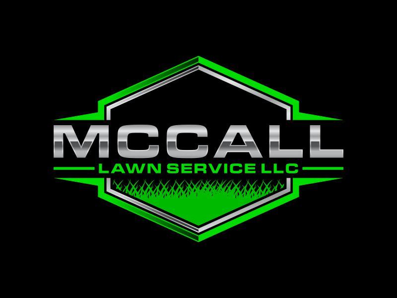 McCall Lawn Service LLC logo design by ora_creative