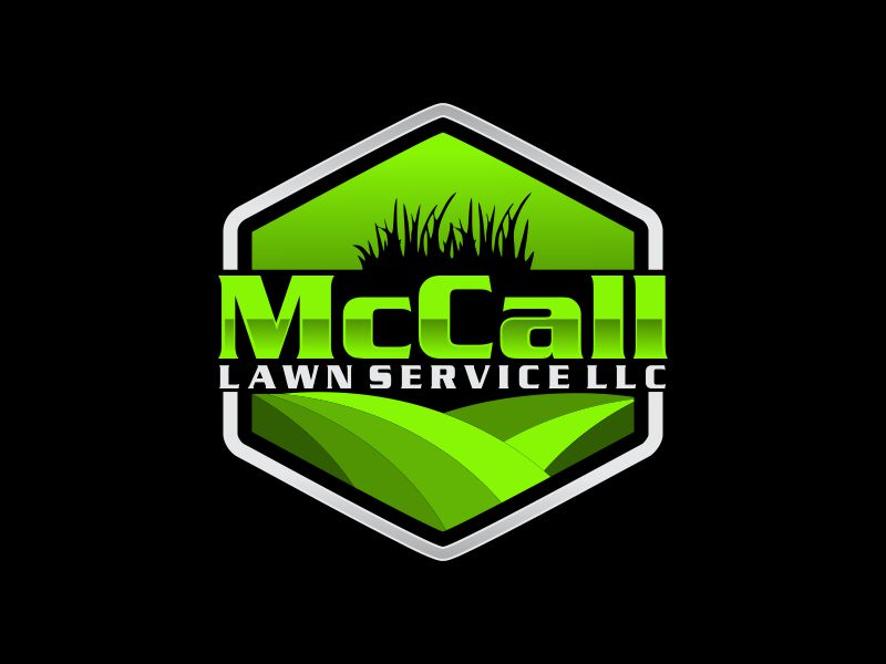 McCall Lawn Service LLC logo design by oke2angconcept
