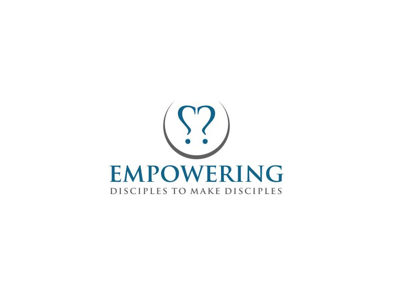 """Phrase included in  the logo: """"empowering disciples to make disciples"""" logo design by oke2angconcept"""