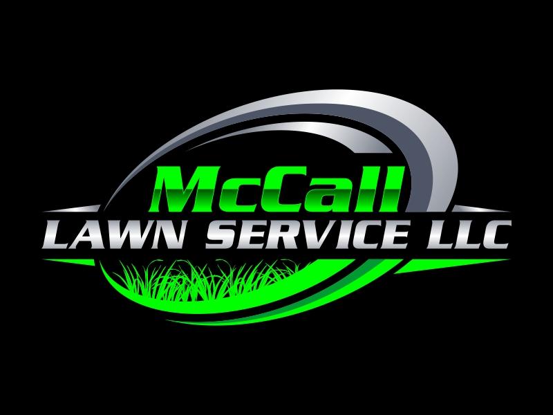 McCall Lawn Service LLC logo design by Kruger