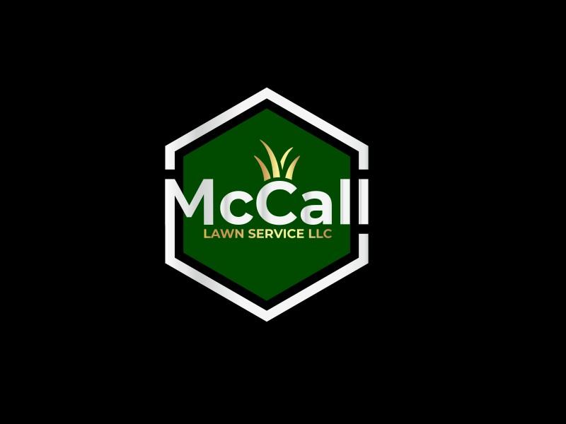 McCall Lawn Service LLC logo design by Mustajib Thohuri