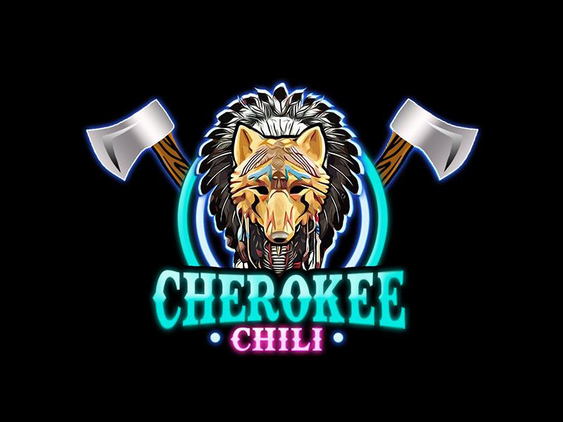 Cherokee Chili logo design by PrimalGraphics