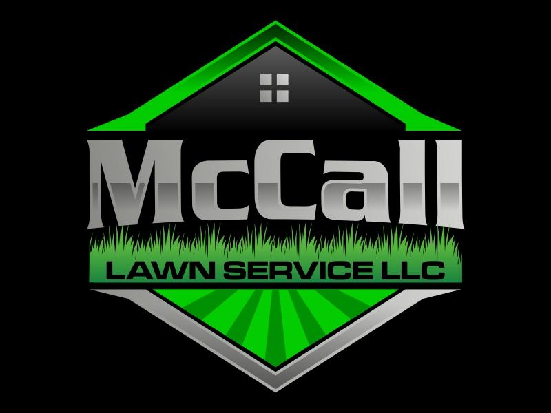 McCall Lawn Service LLC logo design by qqdesigns
