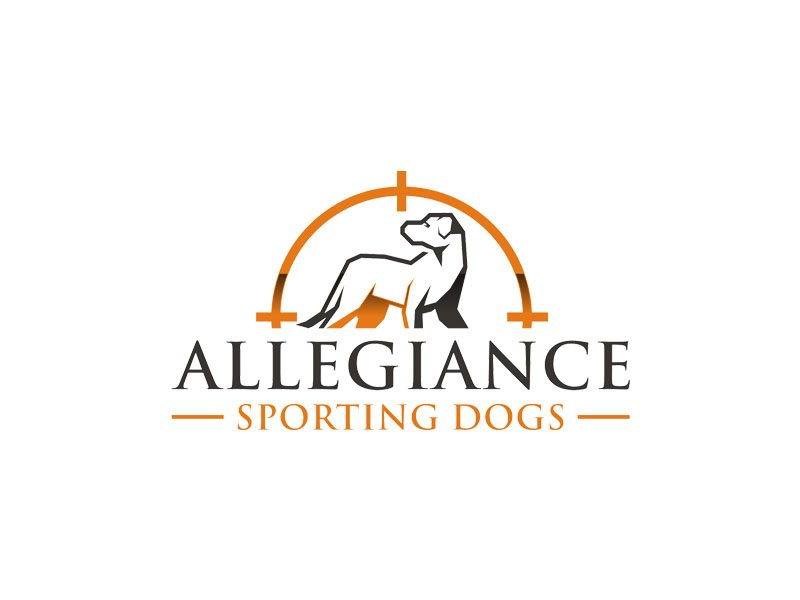 Allegiance Sporting Dogs logo design by Rizqy