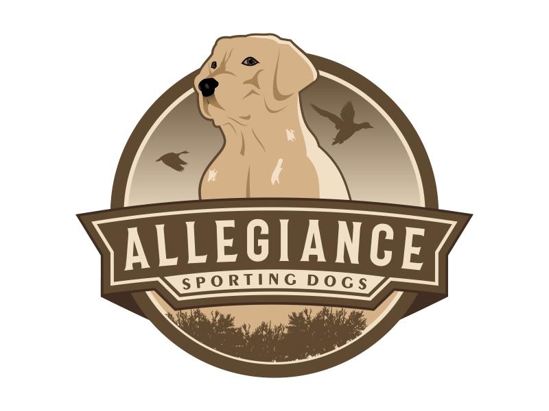 Allegiance Sporting Dogs logo design by Kruger