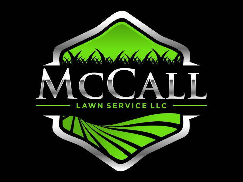 McCall Lawn Service LLC logo design by imagine