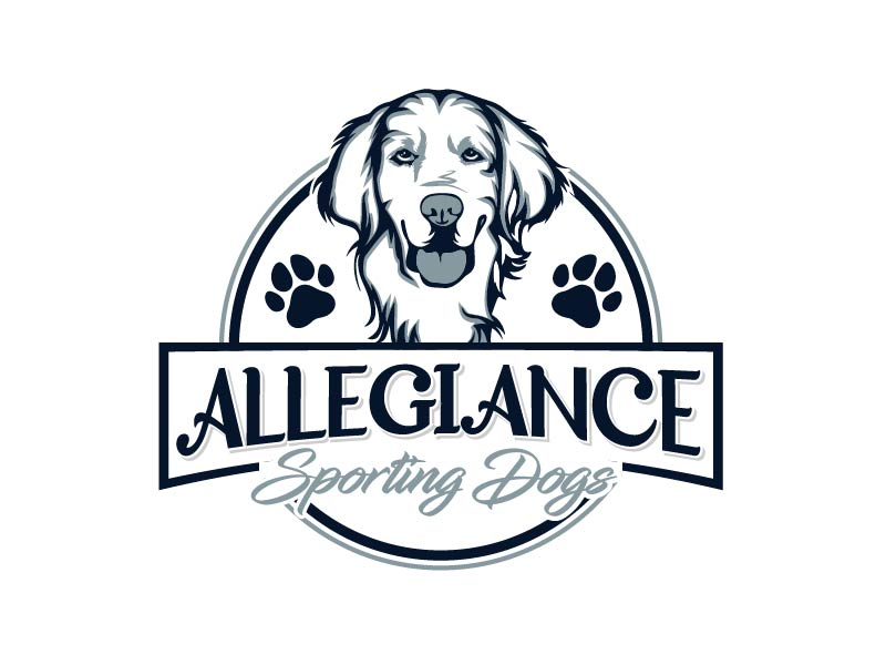 Allegiance Sporting Dogs logo design by axel182