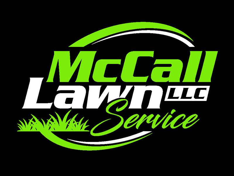 McCall Lawn Service LLC Logo Design