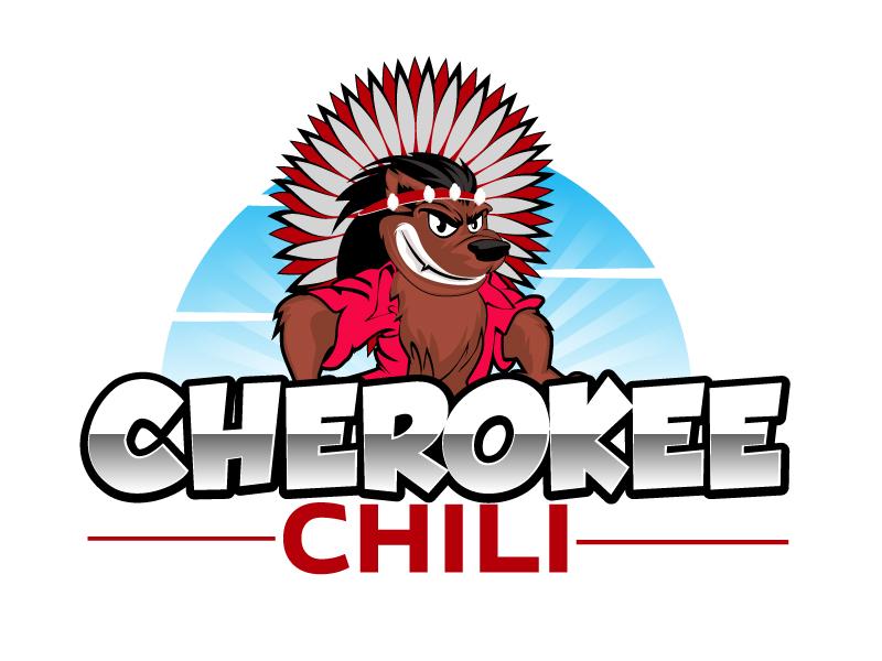 Cherokee Chili logo design by ElonStark