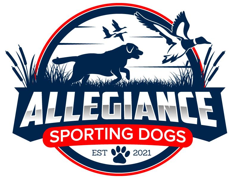 Allegiance Sporting Dogs logo design by jaize