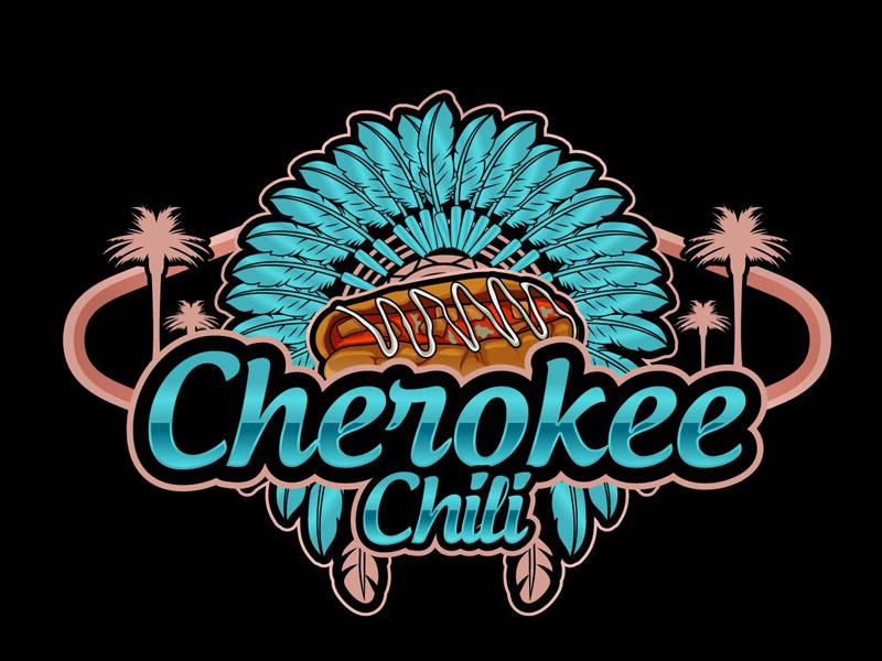 Cherokee Chili logo design by DreamLogoDesign