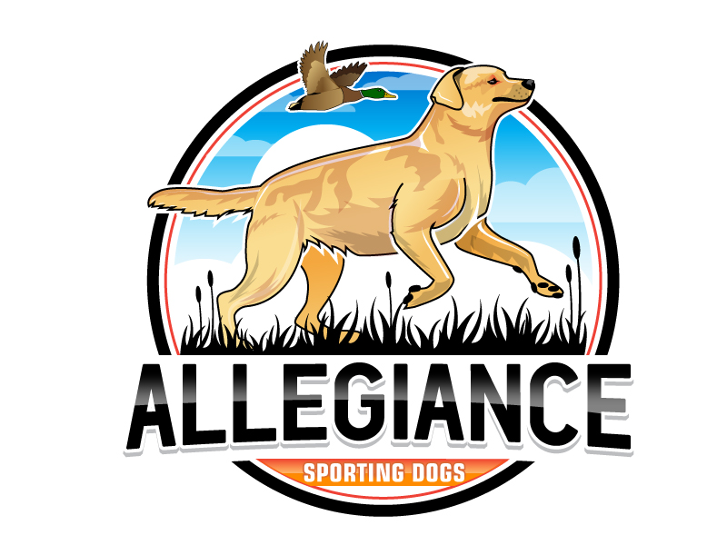 Allegiance Sporting Dogs logo design by Suvendu