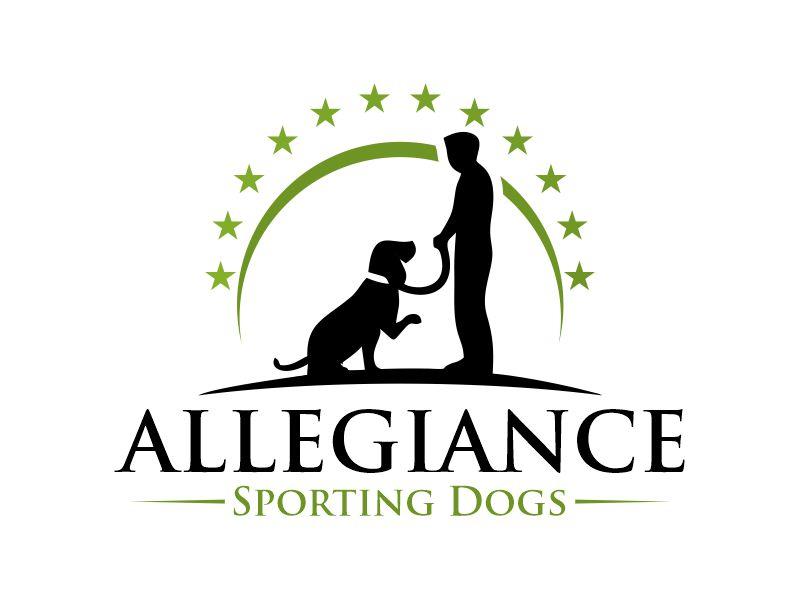 Allegiance Sporting Dogs logo design by Gwerth