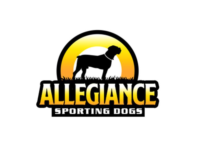 Allegiance Sporting Dogs logo design by kunejo