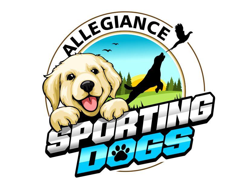 Allegiance Sporting Dogs logo design by veron