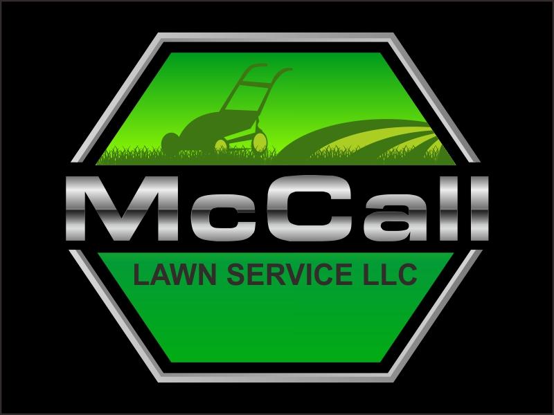 McCall Lawn Service LLC logo design by Greenlight