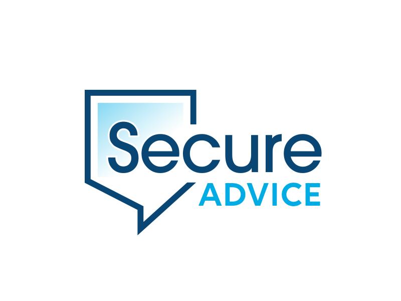 Secure Advice logo design by adm3