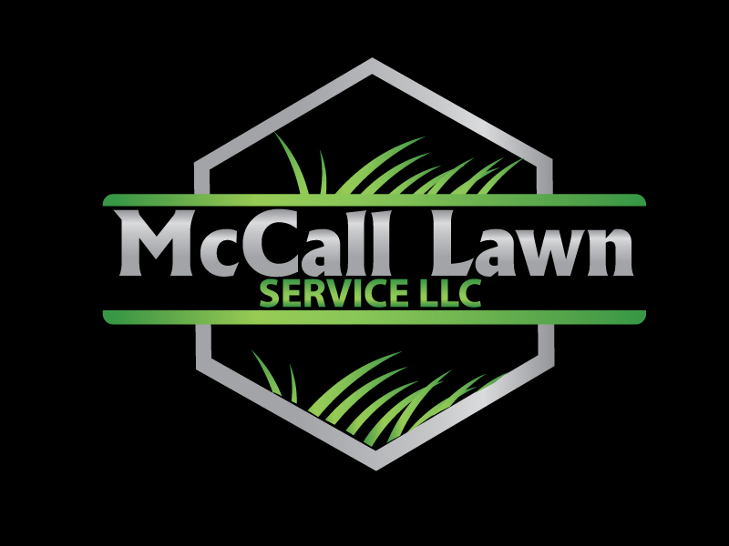 McCall Lawn Service LLC logo design by webmall