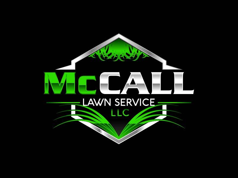 McCall Lawn Service LLC logo design by axel182