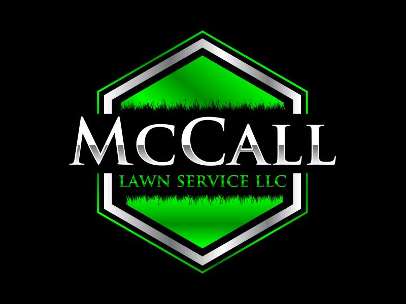 McCall Lawn Service LLC logo design by keylogo