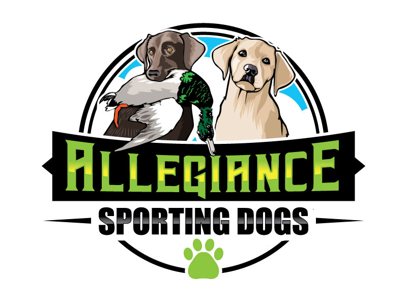 Allegiance Sporting Dogs logo design by invento