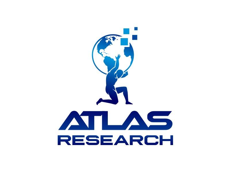 Atlas Research logo design by haze