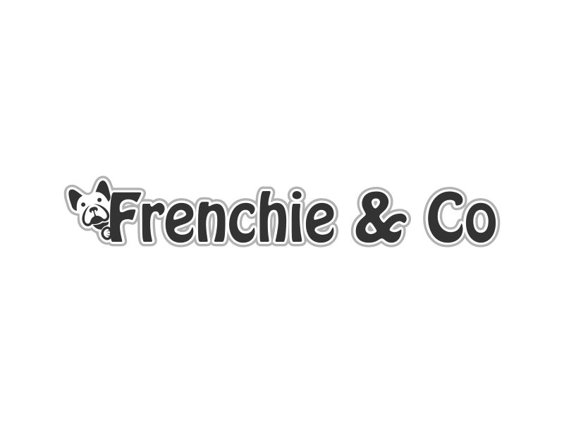 Frenchie & Co logo design by Akisaputra