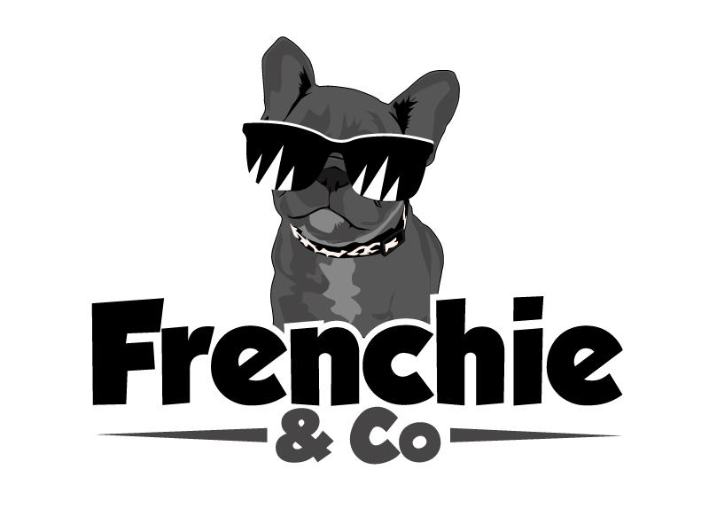 Frenchie & Co logo design by ElonStark