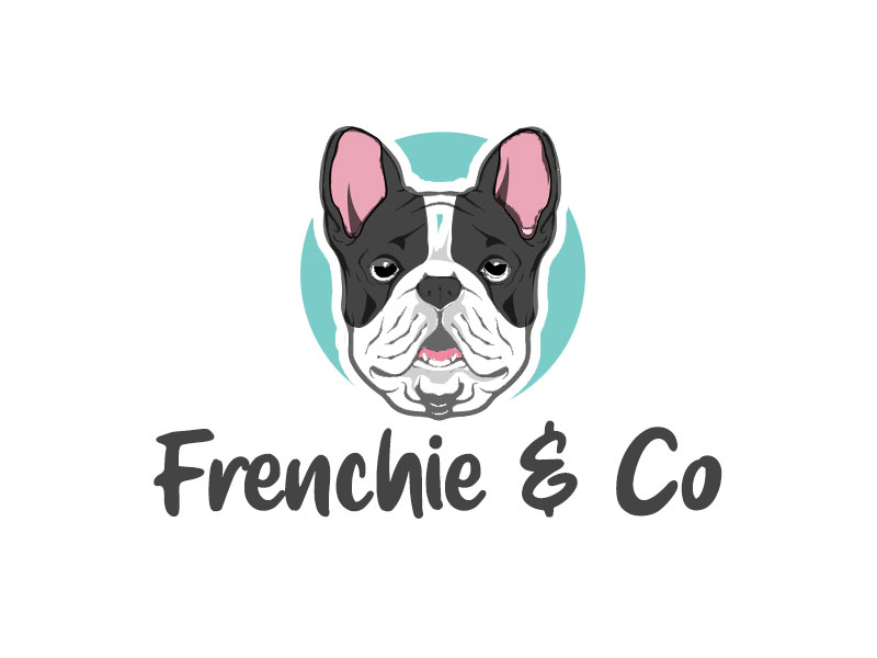 Frenchie & Co logo design by kunejo