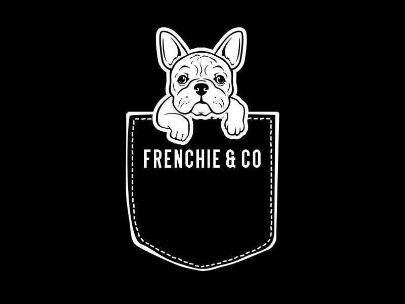 Frenchie & Co logo design by aladi
