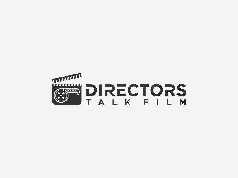 Directors Talk Film logo design by Orino