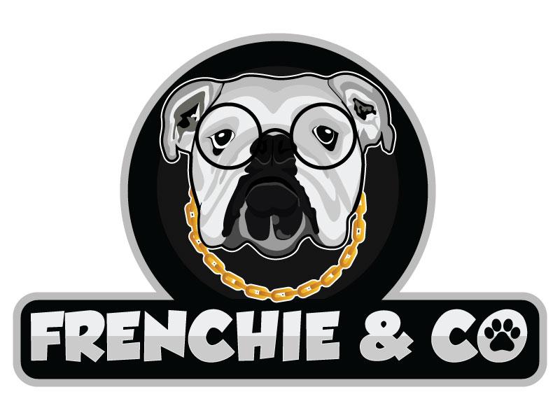 Frenchie & Co logo design by Suvendu