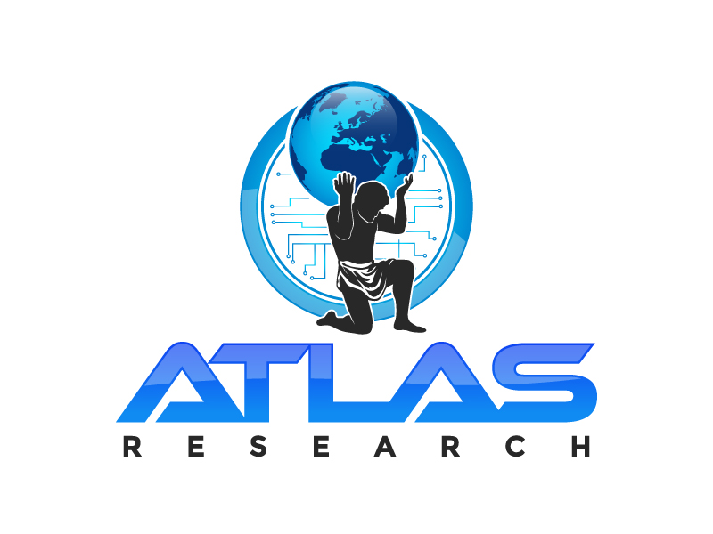Atlas Research logo design by daywalker