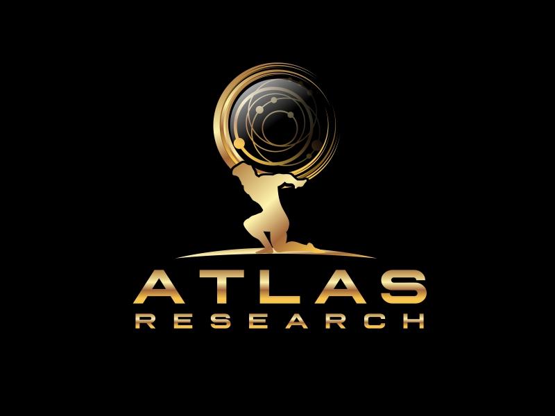 Atlas Research logo design by serprimero