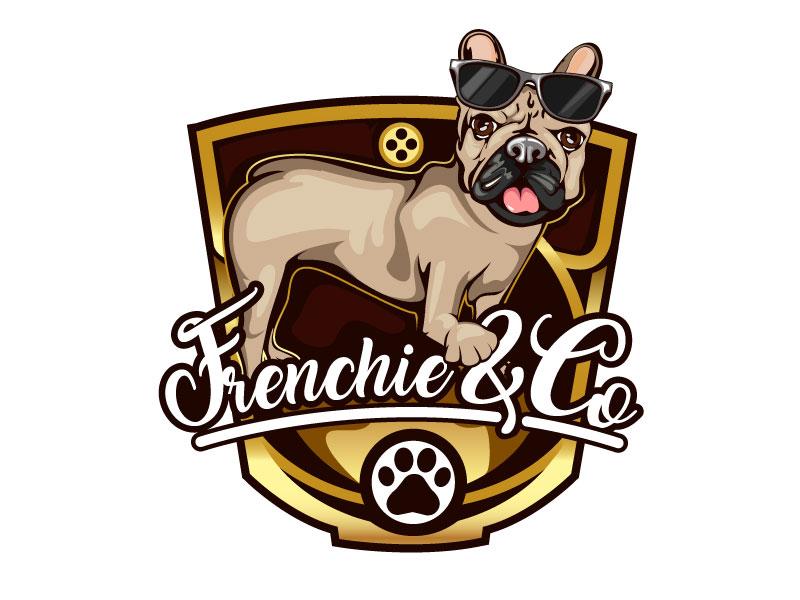 Frenchie & Co logo design by usashi