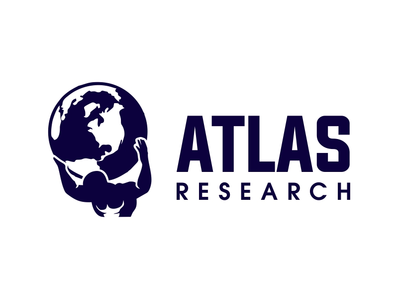 Atlas Research logo design by JessicaLopes