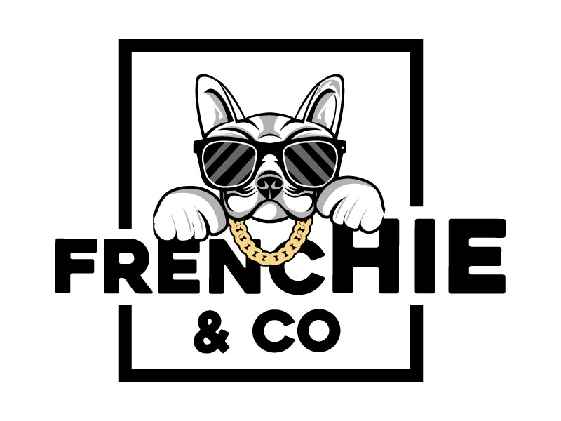 Frenchie & Co logo design by LogoQueen