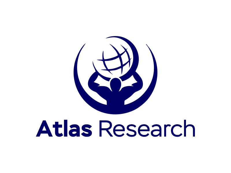 Atlas Research logo design by Gwerth
