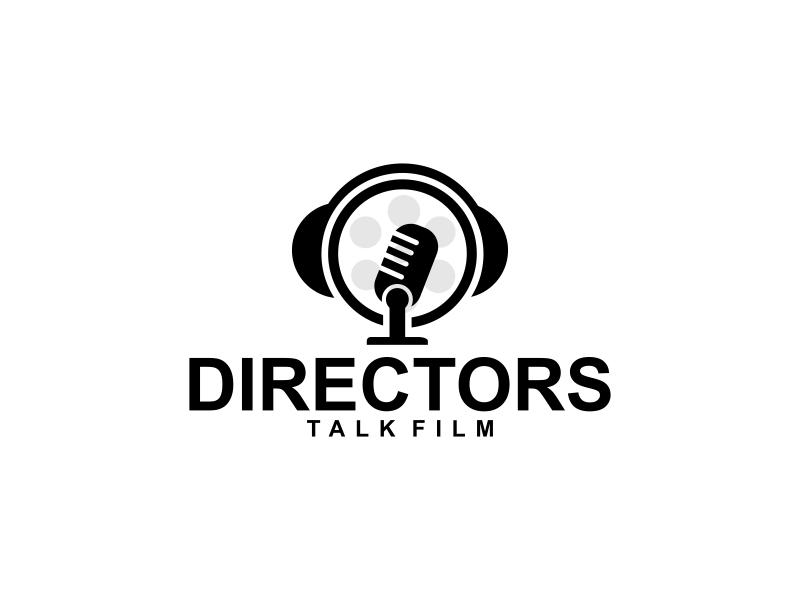 Directors Talk Film logo design by luckyprasetyo