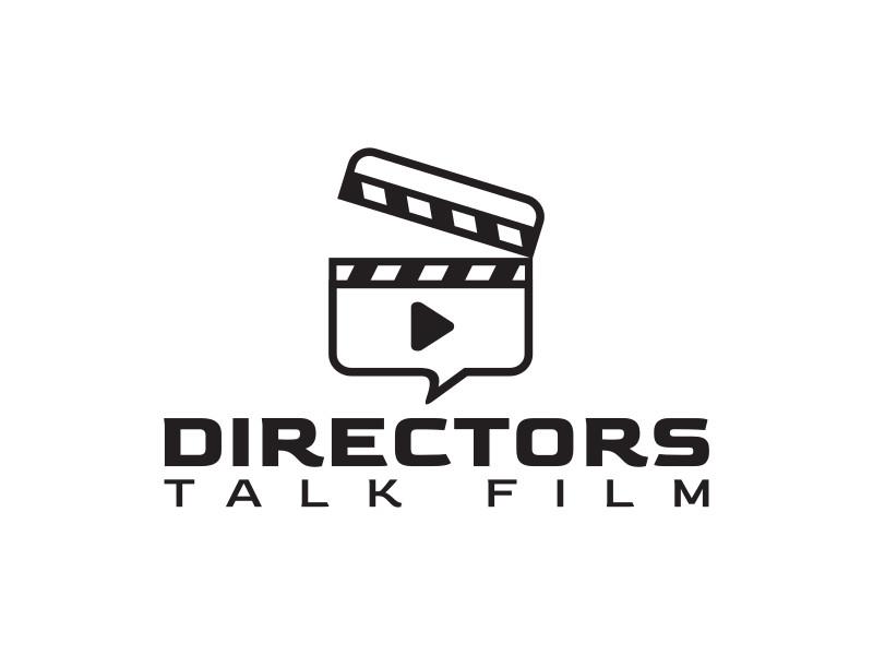 Directors Talk Film logo design by Muhammad Taruf