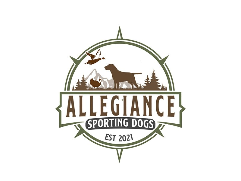 Allegiance Sporting Dogs logo design by PrimalGraphics