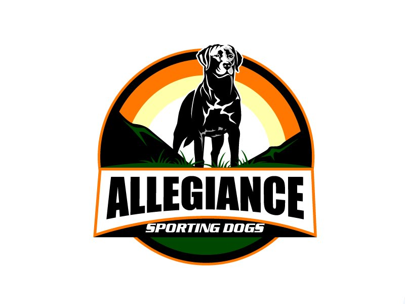 Allegiance Sporting Dogs logo design by aRBy