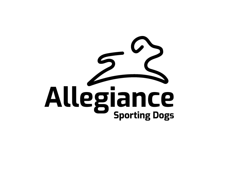 Allegiance Sporting Dogs logo design by syakira