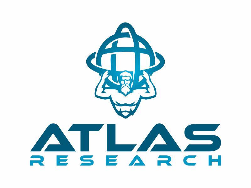 Atlas Research logo design by Franky.