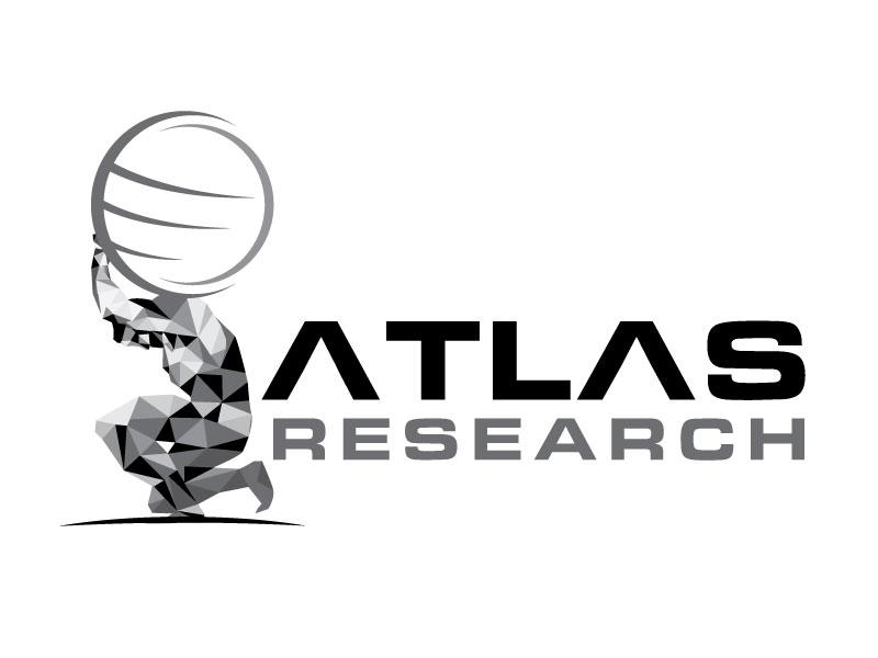 Atlas Research logo design by invento