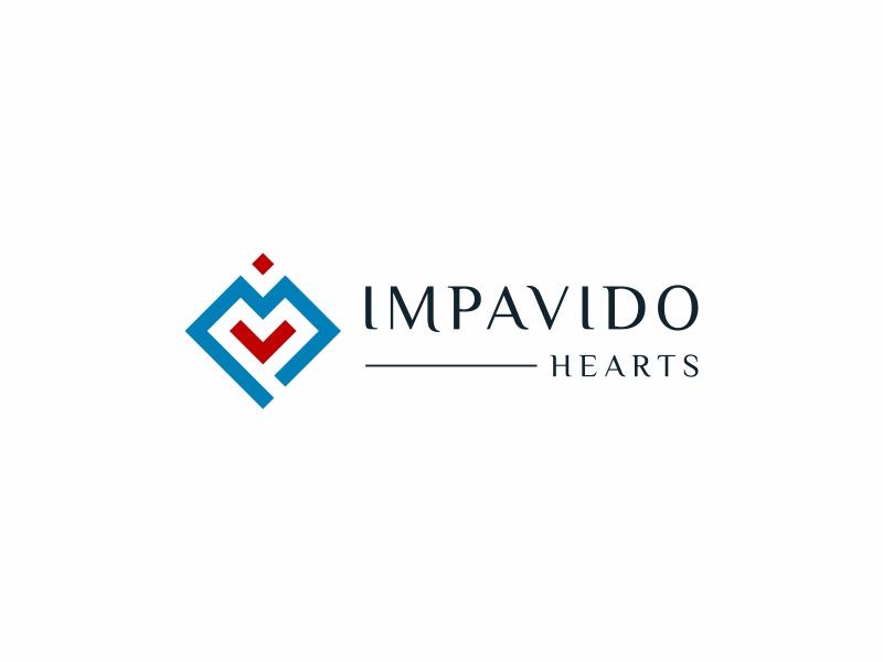 Impavido Hearts logo design by Gandri Hendra