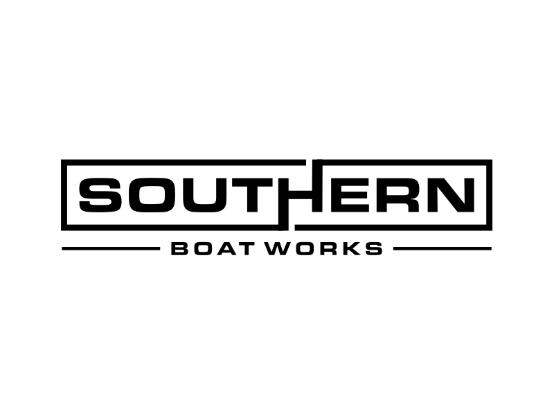 Southern boat works logo design by cintoko