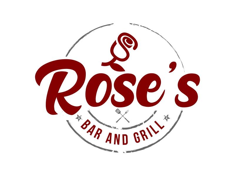Rose's Bar & Grill logo design by ingepro
