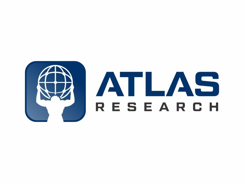 Atlas Research logo design by Mardhi