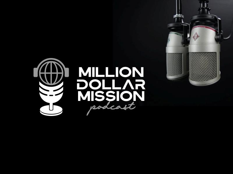 Million Dollar Mission Podcast logo design by Lewi Anton Setiawan